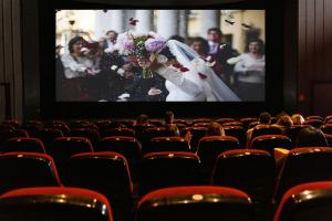 Ein Blick hinter die Kulissen vom Kinofilm Selbst ist die Braut